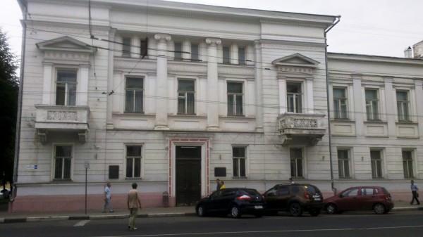 здание дом Пастухова