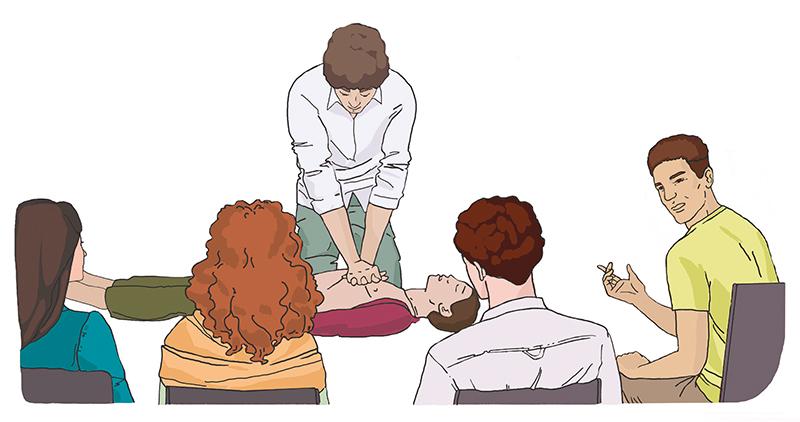 инструктор по оказанию первой помощи